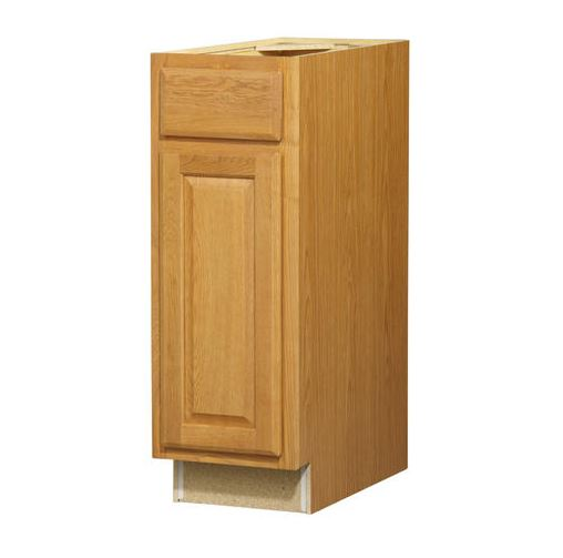 12in Standard 1-DoorDrawer Base Cabinet