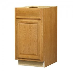 18 in Standard 1-DoorDrawer Base Cabinet