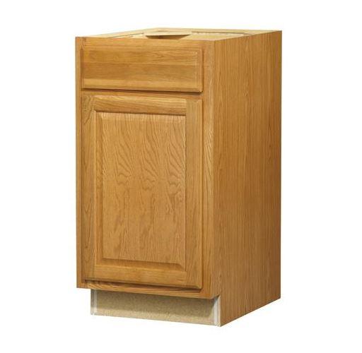 18 in Standard 1-DoorDrawer Base Cabinet