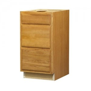 18in 3-Drawer Base Cabinet