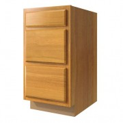 24in 3-Drawer Base Cabinet