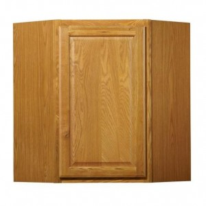 24in Diagonal Corner Wall Cabinet
