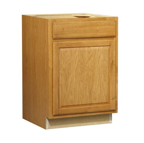 24in Standard 1-Door Drawer Base Cabinet