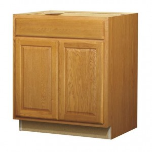 30in Standard 2-Door 1-Drawer Base Cabinet