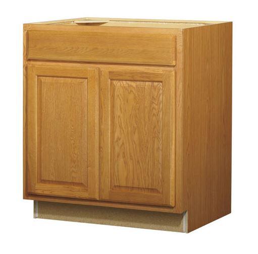 30in Standard 2-Door 1-Drawer Base Cabinet