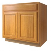 33in Standard 2-Door Sink Base Cabinet