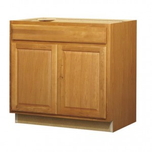 36in Standard 2-Door 1-Drawer Base Cabinet