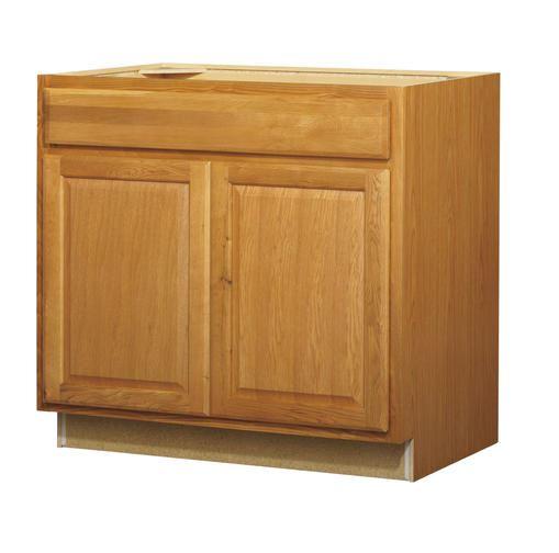 36in Standard 2-Door 1-Drawer Base Cabinet