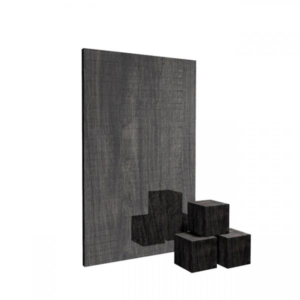 Wooden Black 3
