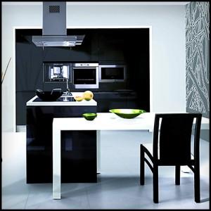 black cocina
