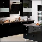 cocina solid black