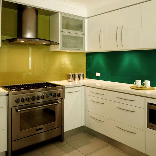Slab Kitchen Cabinet Door In Solid Light Beige Akc