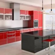 sparkle red cocina