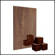 wooden medium brown 4